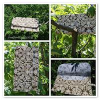 emerald cute custom made diaper clutch   http://panpancrafts.blogspot.de/