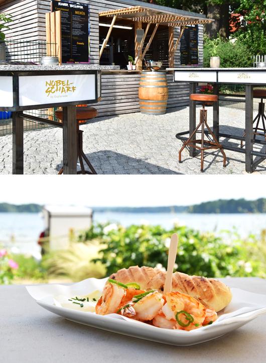 Nobelscharf: Exklusiver Imbiss am Strand von Bad Saarow