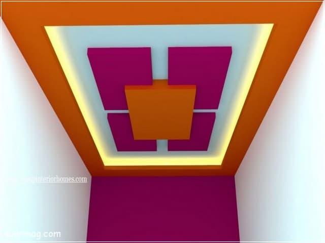 اسقف جبس بورد للصالات مستطيلة 12 | Gypsum Ceiling For Rectangular Halls 12