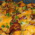 Loaded Potato And Buffalo Chicken Casserole Recipe