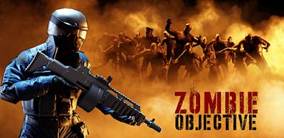 لعبة الأكشن والقتال Zombie Objective مهكرة للأندرويد