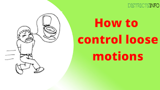 How to control loose motions