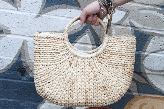 Italian Basket Bag | Will Bake for Shoes
