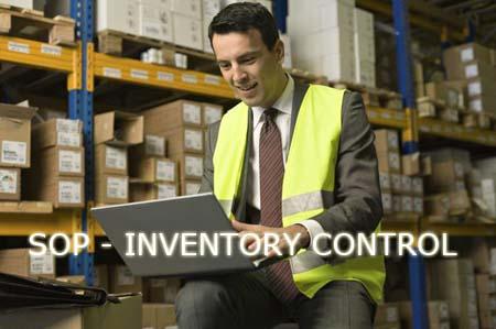Kebijakan dan Prosedure Persediaan (Inventory Control) - SOP Part 4