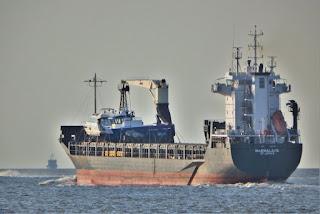 Rapiti otto marittimi della mn MarMalaita nella rada di Douala