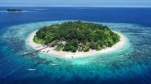 Wisata Pulau Samatellu Pedda Pangkep Sulawesi Selatan