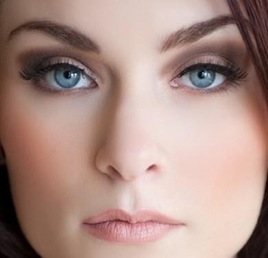 Matte Smoky eye Makeup For Blue eyes