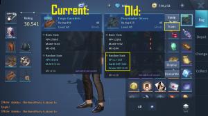 Transferring Equipment Attributes in Dragon Raja