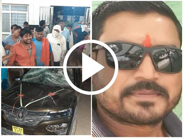 गोरक्षा दलाच्या जिल्हा प्रमुखाच्या हत्येचा VIDEO वायरल || Marathi news