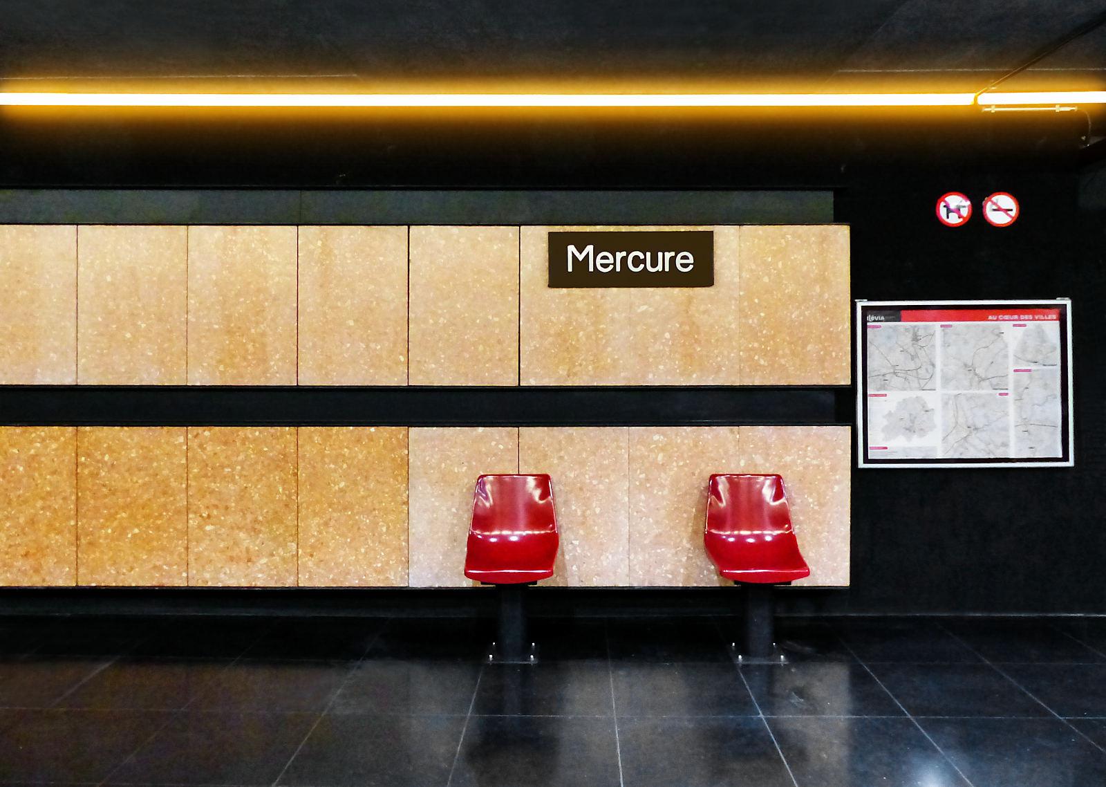 Métro Tourcoing - Quai Station Mercure