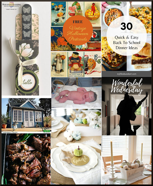 Wonderful Wednesday Blog Hop. Share Now. Share NOW DIY, crafts, home decor, recipes with bloggers and readers. 8 features. #linkparty #linkparties  #eclecticredbarn #wwwbh