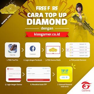 Top Up Diamond Free Fire Murah terbaru