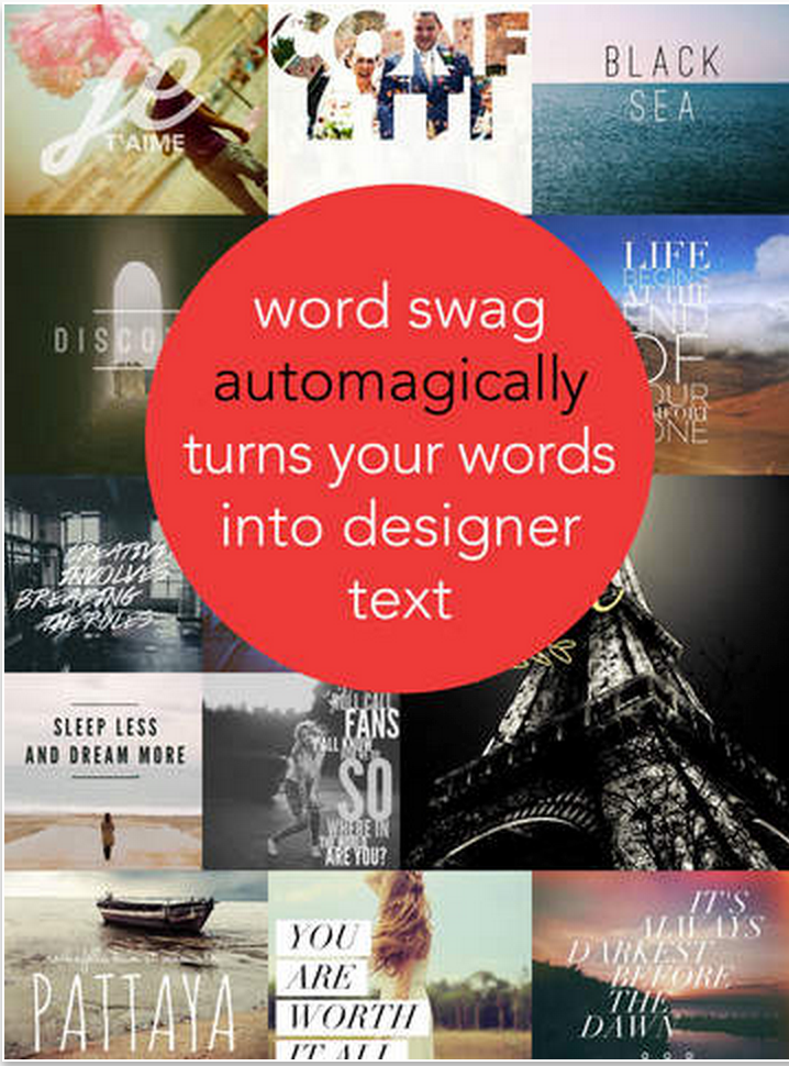 word swag a great app for creating poster quotes and educational