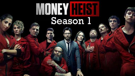 Money Heist S01 2017 banner HDMoviesFair