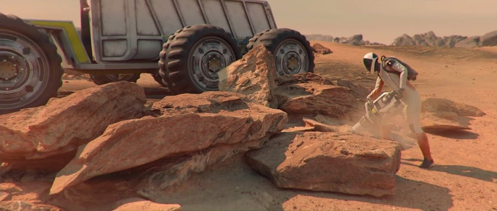Drilling Martian rocks - image from Occupy Mars game