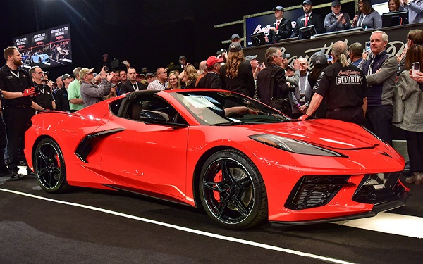Chevrolet Corvette Stingray C8 Barret Jackson