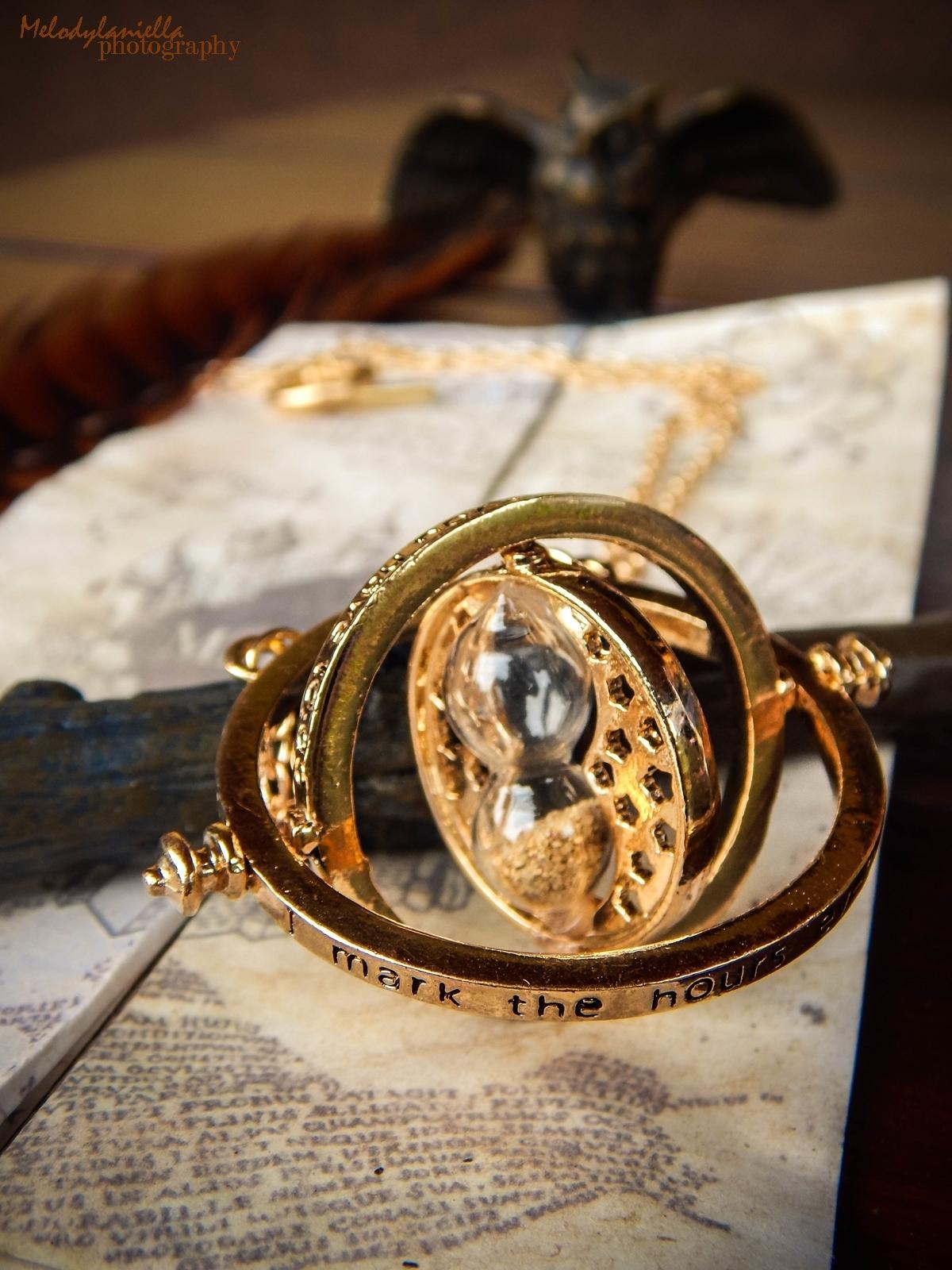 harry potter różdżka zmieniacz czasu mapa huncwotów ksiązki mugole prezenty bizuteria złoty znicz pióro sowa mapa dla fanów prezent złoto hermiona harry ron