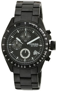 FOSSIL DECKER CHRONOGRAPH ANALOG BLACK DIAL