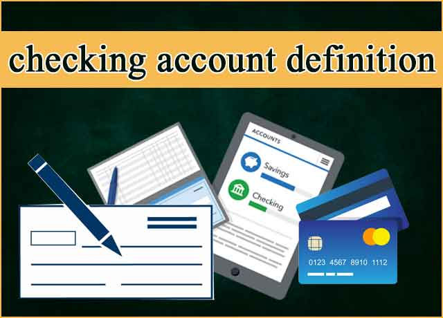 checking-account-definition