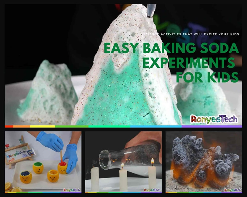 Easy Baking Soda Experiments for Kids
