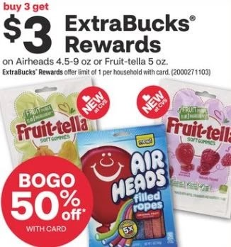 Air Heads Xtreme Sour Candy Bag