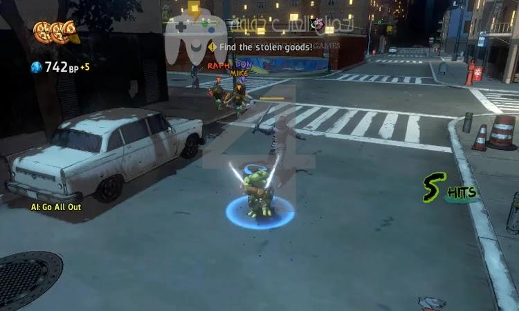 تحميل لعبة سلاحف النينجا جميع الاصدارات برابط مباشر بحجم صغير