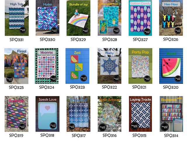 Patterns by Slice of Pi Quilts