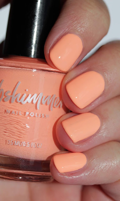 KBShimmer Papaya Don't Preach swatch by Streets Ahead Style