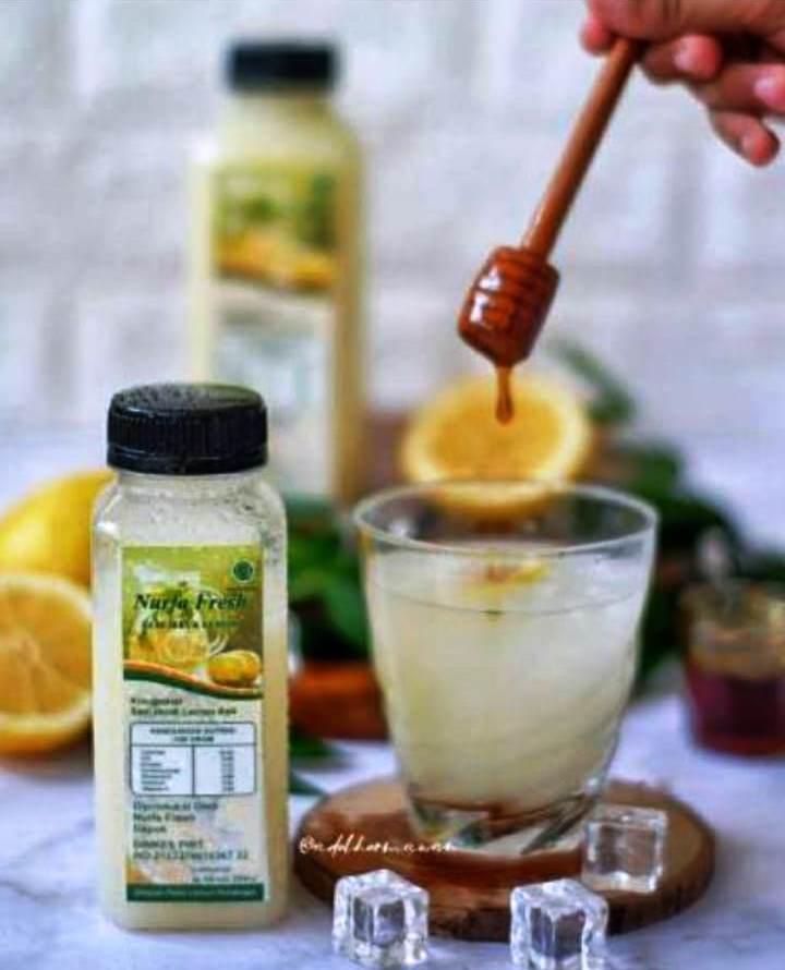 Nurfa Fresh Sari Jeruk Lemon Dengan Beragam Manfaat