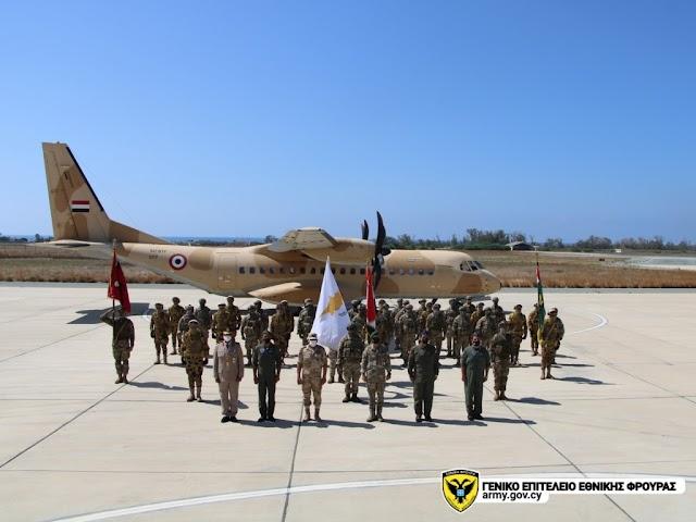 Άσκηση «ΠΤΟΛΕΜΑΙΟΣ/2021»: Συνεκπαίδευση Κυπριακών και Αιγυπτιακών Ειδικών Δυνάμεων