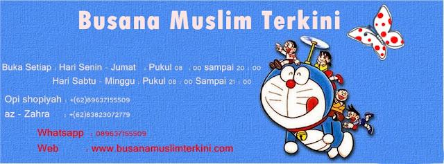 Busana muslim trendy terkini