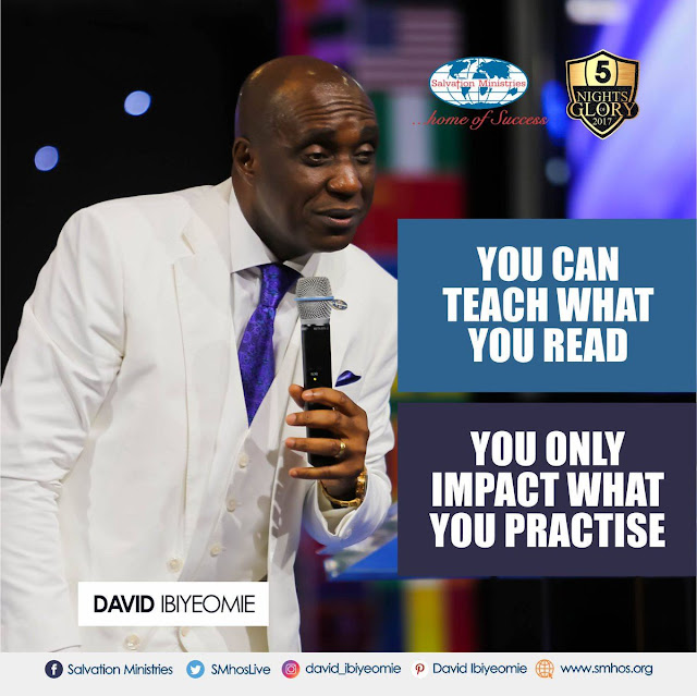 Pastor David Ibiyeomie's Quotes During #5NightsOfGlory2017 - Day 5