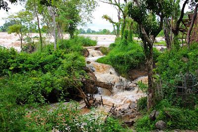Li Phi Falls in Laos