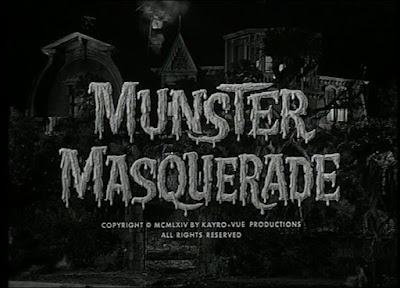 The Munsters - Munster Masquerade Title Screen