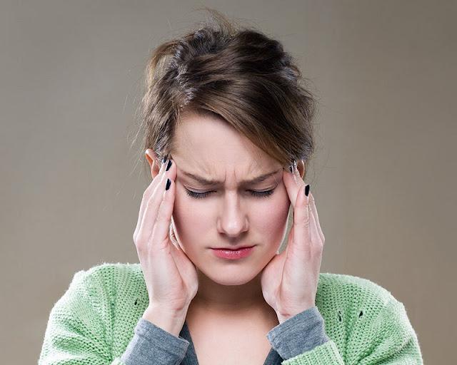 penyebab sakit kepala bagian belakang kiri