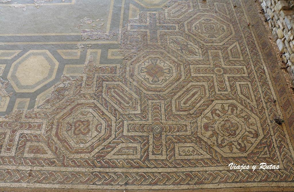 Mosaico de la Villa romana de Veranes, Gijón