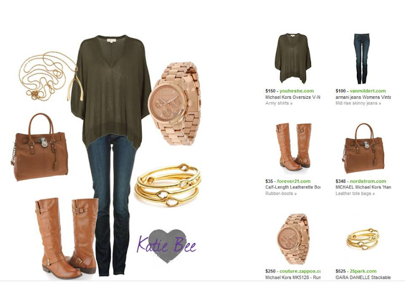 add5dec9a4 Pinsperation  Olive Green and Dark Jeans