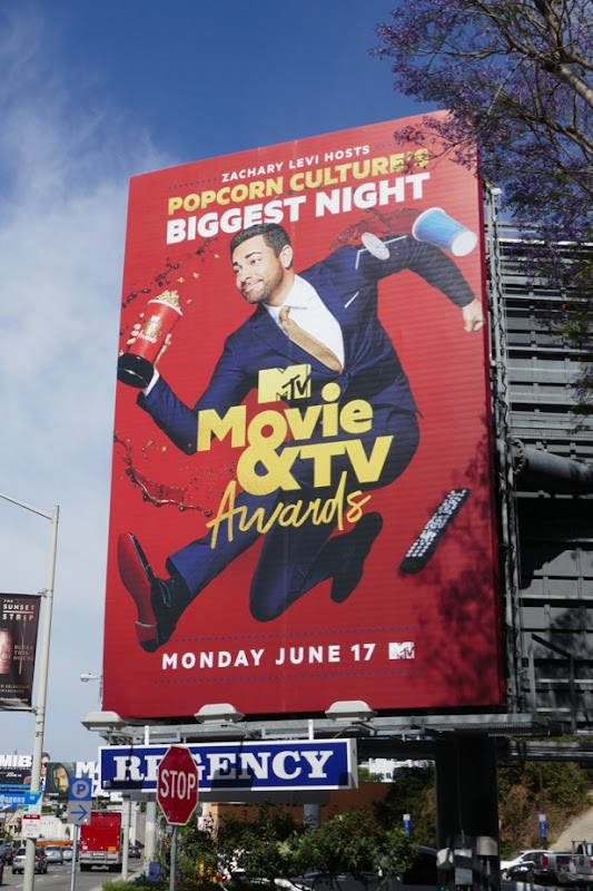 MTV Movie TV Awards 2019 billboard