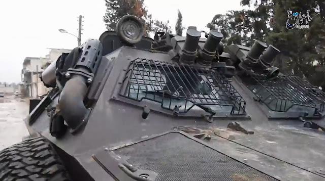 Τούρκοι στρατιώτες τράπηκαν σε φυγή στην Αλ Μπαμπ - Εγκατέλειψαν το τεθωρακισμένο τους στο πεδίο της μάχης