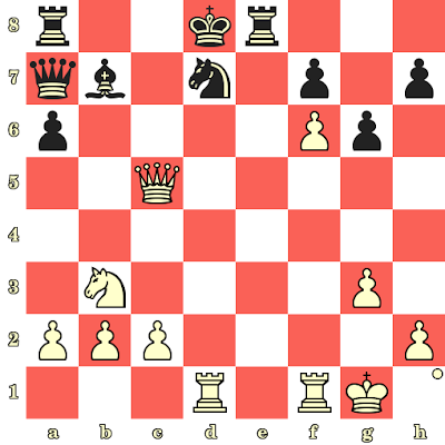 Les Blancs jouent et matent en 4 coups - Stanislav Babarykin vs Elton Joseph, Bakou, 2016