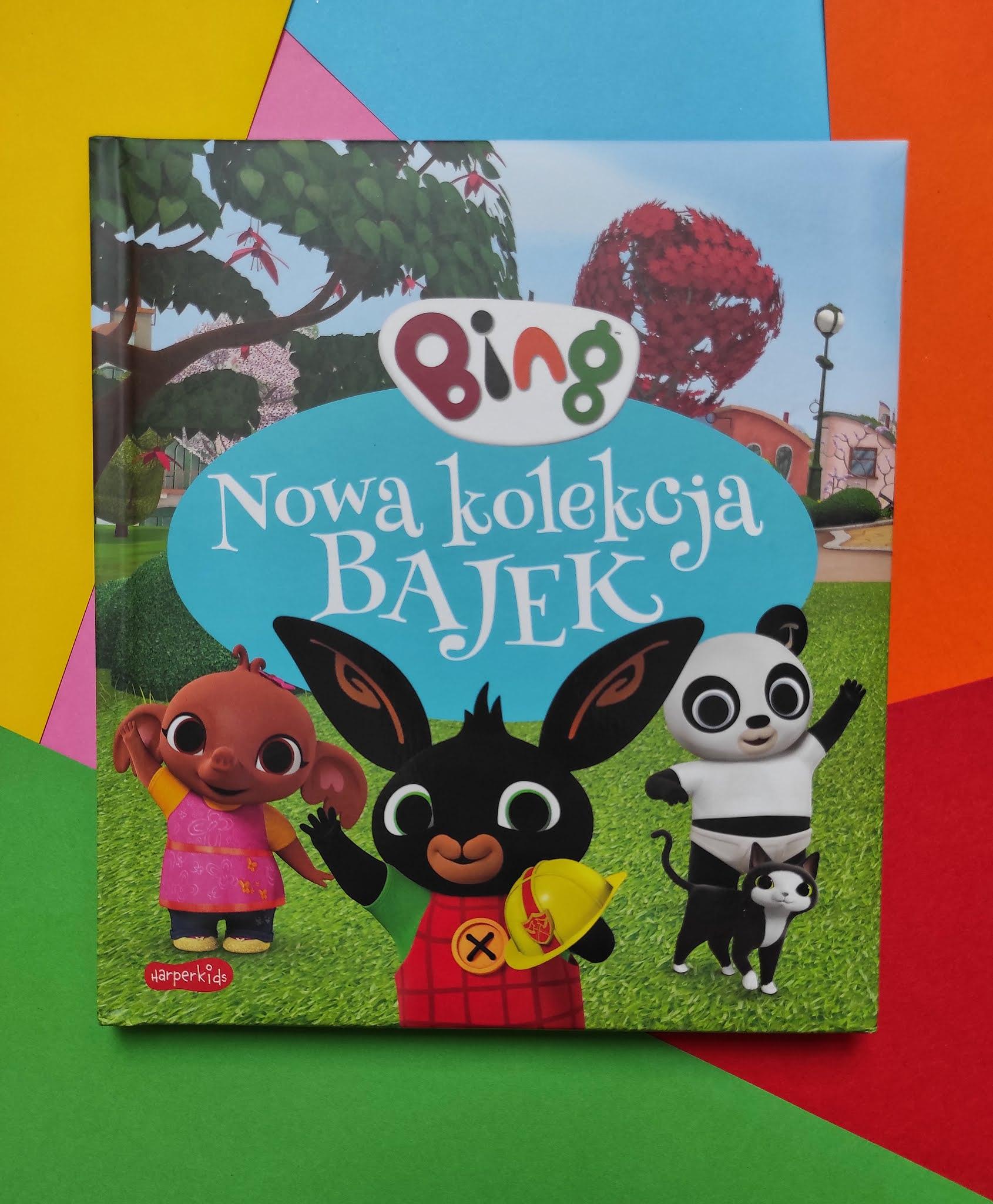 """""""Bing. Nowa kolekcja bajek"""" - recenzja - Tania Książka"""