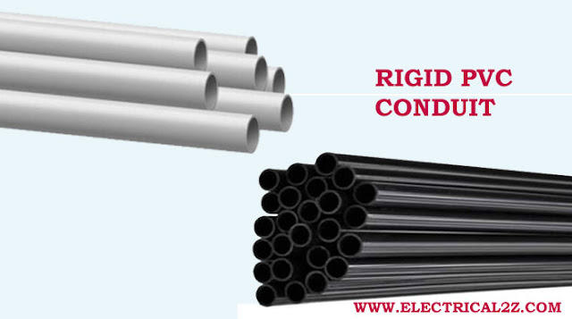 rigid pvc conduit, electrical metallic tubing, electrical nonmetallic tubing, rigid metal conduit, intermediate metallic conduit, flexible metal conduit @electrical2z
