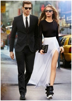 Formal Attire for both Men and Women