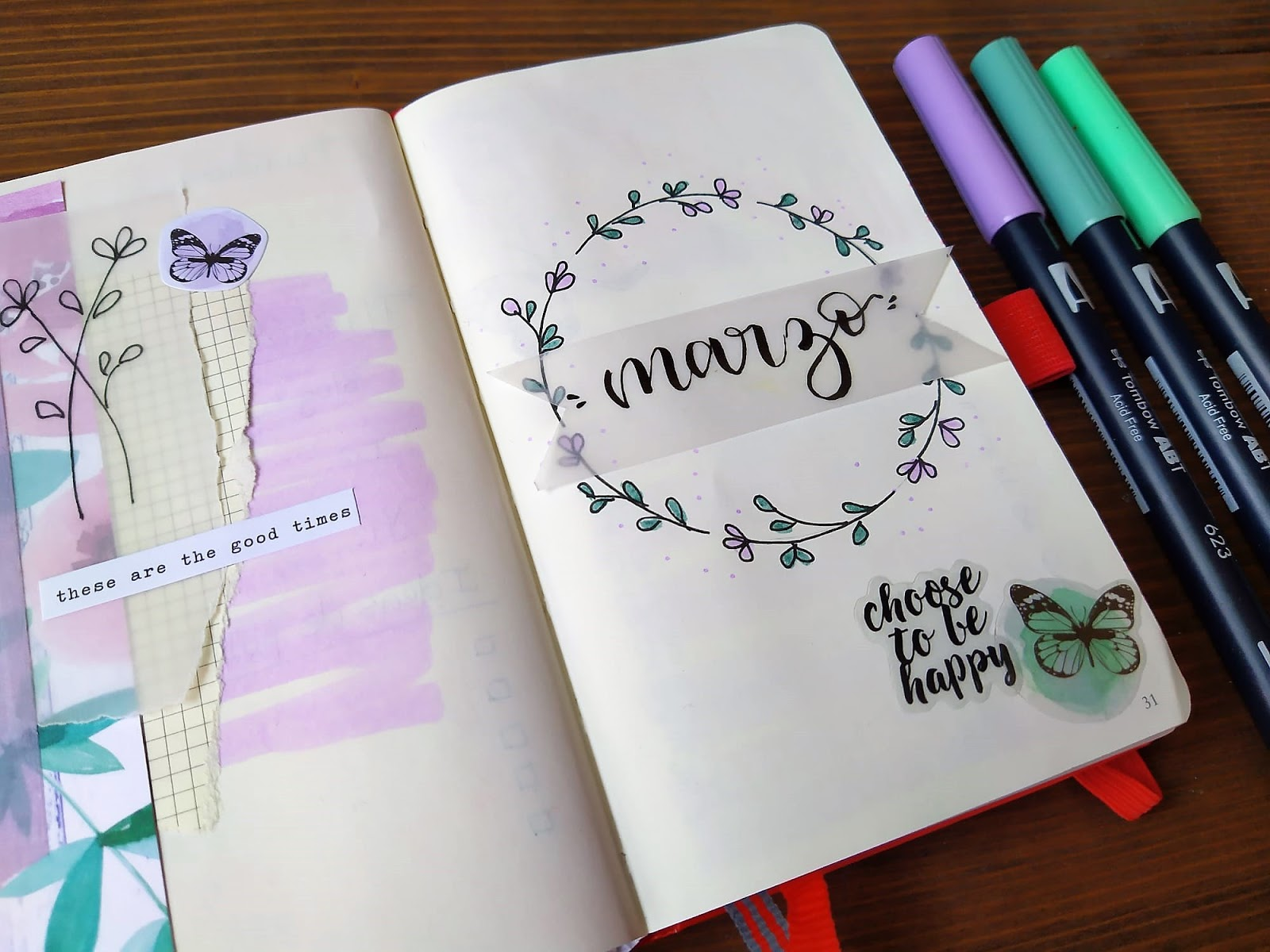 BULLET JOURNAL MARZO 2020