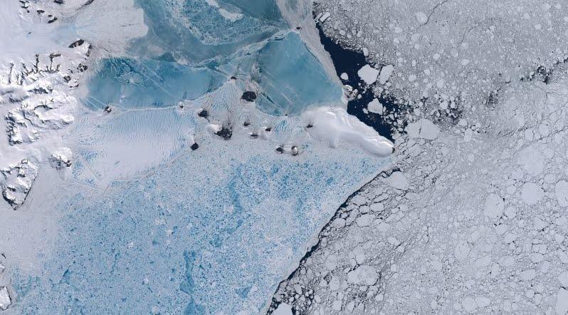 Un suono tenebroso registrato in Antartide