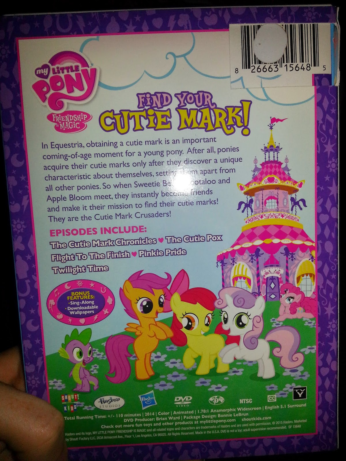 My Little Pony Shout Kids