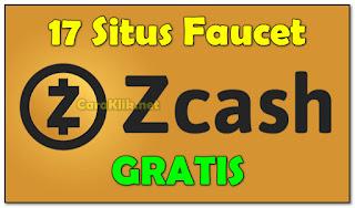 17 Situs Auto Claim Faucet Zcash Gratis 2019