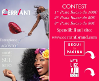 Logo Cerrant Brand : vinci gratis buoni spesa fino a 100 euro