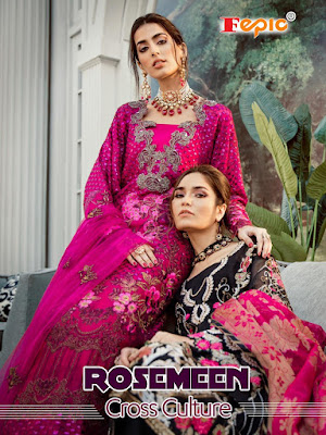 Fepic Rosemeen Cross Culture  Wedding Wear Pakistani Suits Collection