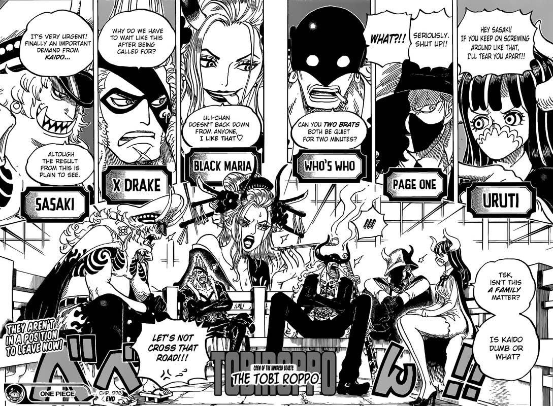 One Piece Manga Chapter 978 - Image 015